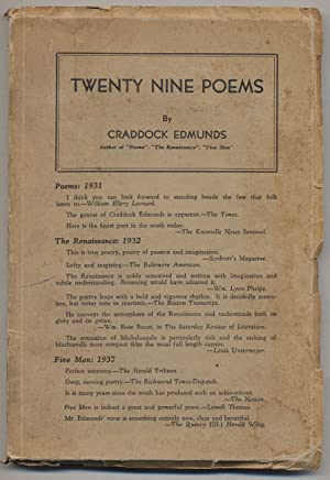 Twenty Nine Poems