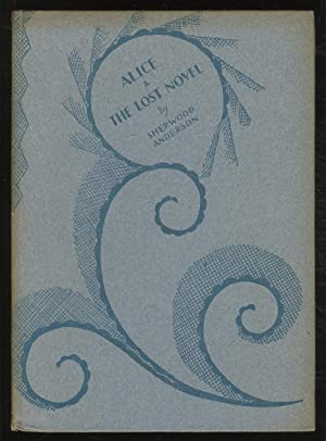 Alice and the Lost Novel: ANDERSON, Sherwood