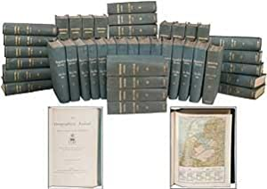 The Geographical Journal, Volumes 1-42 (1893-1913): SHACKLETON, Ernest, Clements Robert Markham, ...