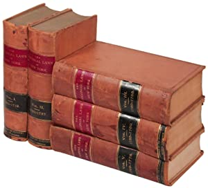 The Colonial Laws of New York from the year 1664 to the Revolution (Five Volume Set): LINCOLN, ...