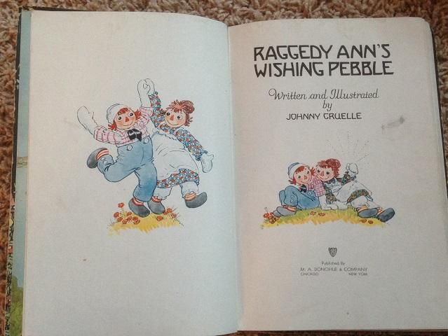 Raggedy Ann's Wishing Pebble: Johnny Gruelle