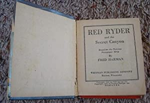 Red Ryder and the Secret Canyon: Fred Harman