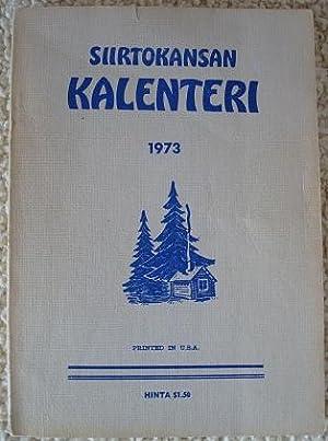 Siirtokansan Kalenteri 1973: A. E. Rajanen