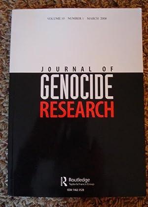 Journal of Genocide Research: Henry R. Huttenbach, Dominik J. Schaller, Jurgen Zimmerer