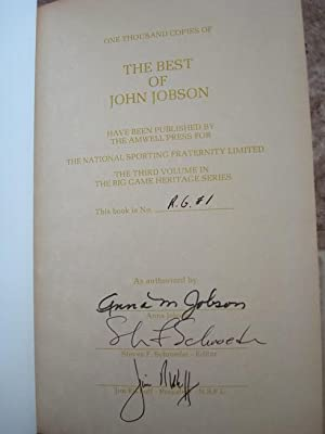 The Best of John Jobson: A Treasure of Twenty Years: Steven F. Schroeder