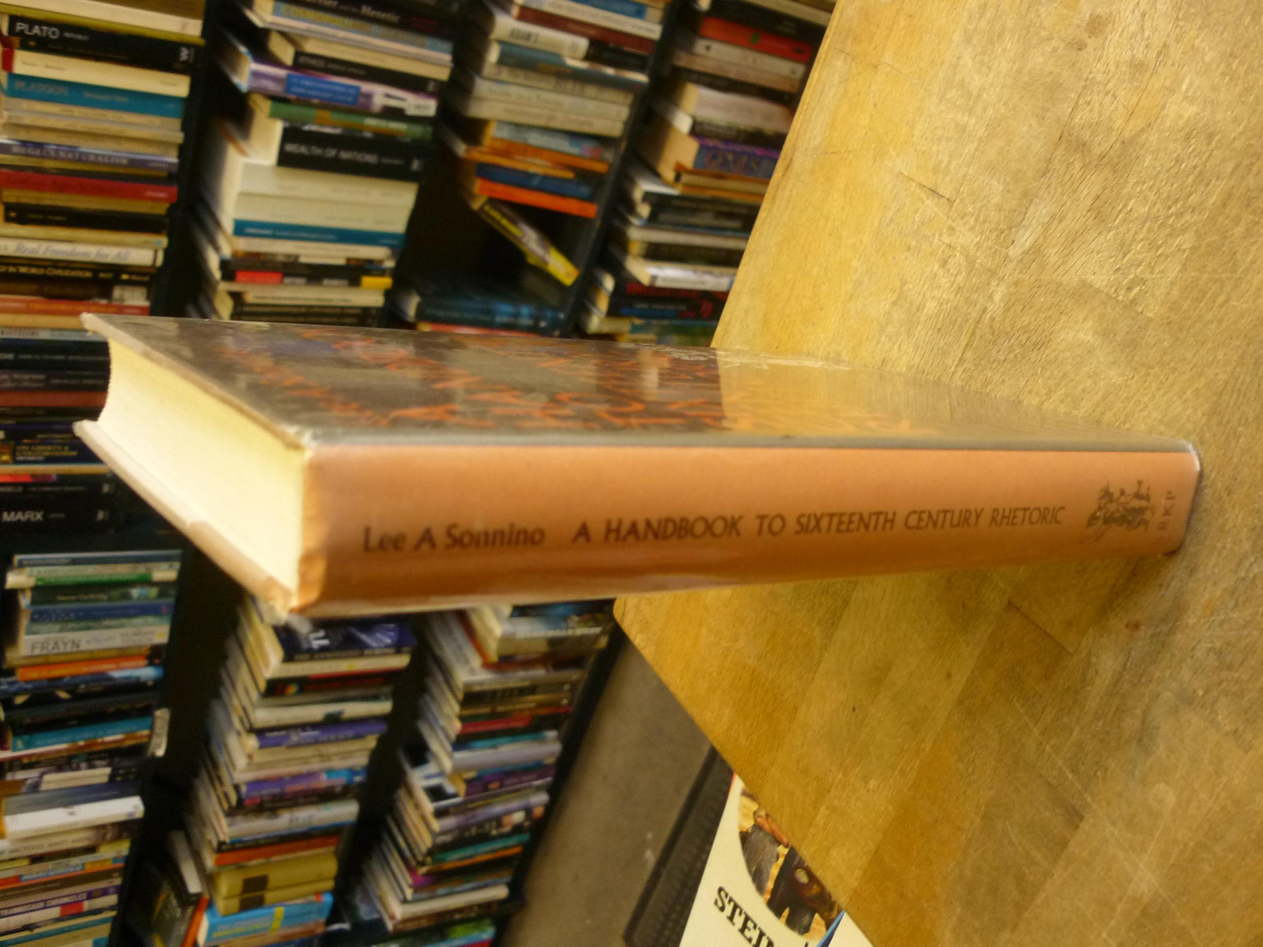 Handbook to Sixteenth Century Rhetoric