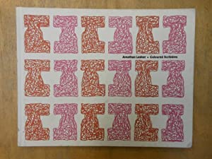 Jonathan Lasker: Coloured Scribbles