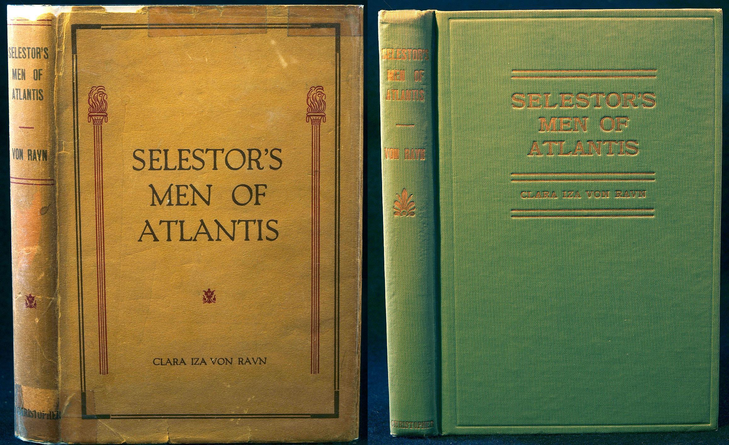 Selestor's Men of Atlantis Clara Iza Von Ravn Very Good Hardcover