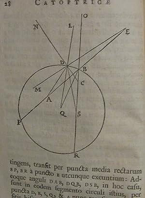 Catoptricae et Dioptricae Sphaericae Elementa (Optics): Gregory, David