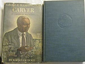 George Washington Carver: An American Biography. Specially signed by the famous botanist on a tip...