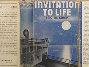 Invitation to Life (Scarce First Novel & Mystery).
