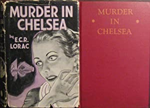 Murder in Chelsea. (Scarce Dust Jacket) A Biblio-Mystery