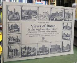 VIEWS OF ROME in the eighteenth century: Giuseppe Vasi