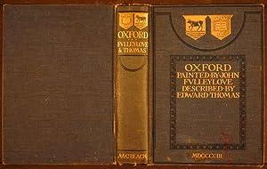 Oxford: Thomas, Edward