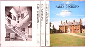 English Country Houses 3 Vol 903/1200 Limited edition Set Early, Mid and Late Gerogian1715 - ...