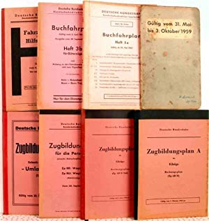 4 German Railway Literature and Timetables form 1956 to 1967: A