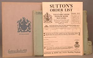 The Royal Seed Establishment (sutton & sons) 1933: A