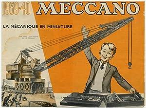 1939-40 Meccano La Mecanique En Miniature 839/150/8212H: A