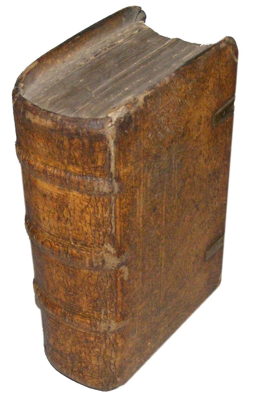 1523 Bible Latin Biblia Cum Summariorum. Tooled Vellum Boards