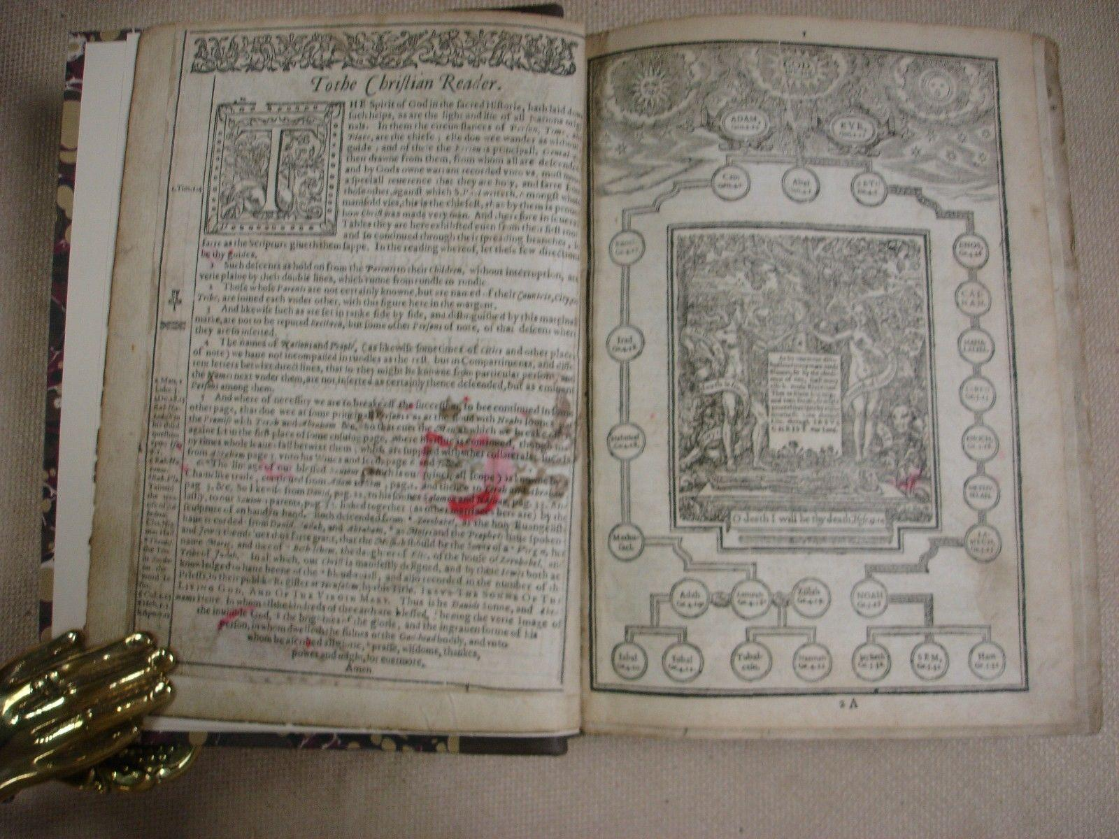 1600 Geneva Bible - Robert Barker