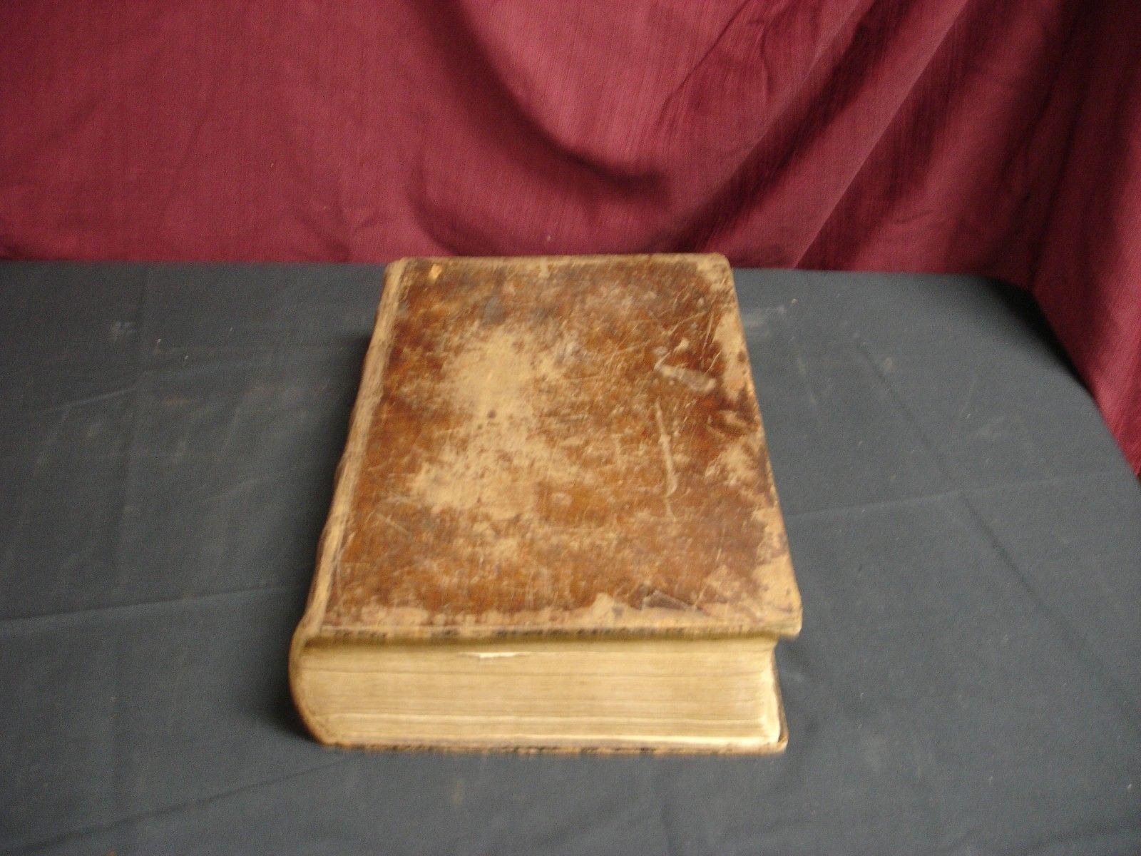 1801 Bible KJV Phillbrick Family History
