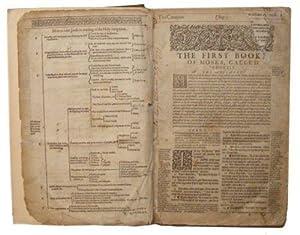 1616 Geneva Bible - Folio Last Issue Date