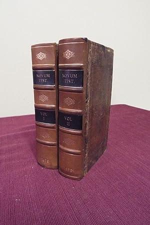 1675 2 Volumes 1st Oxford Printed Greek New Testament Bible