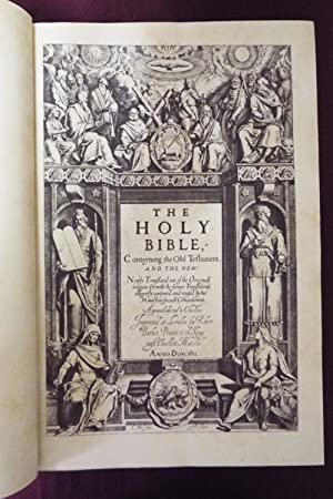 1611 Bible KJV - Folio - Rainbird Facsimile