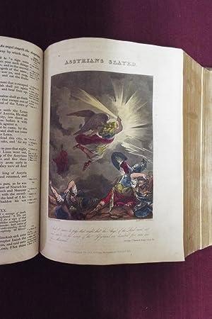 1826 Bible KJV - Hand Colored Plates
