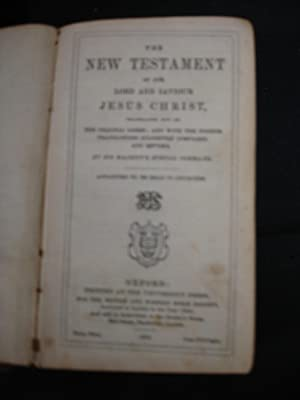 1862 WAR Bible: KJV New Testament