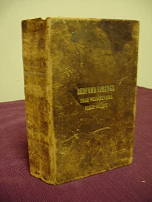 1855 Bedford Springs Original Hotel Bible-From Pennsylvania Bible Society