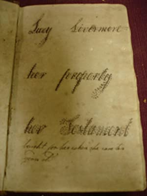 Bible KJV - 1801 Inscribed by Lucy Livermont