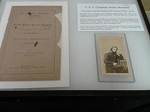 USA Chaplain James Marshall Photograph