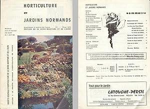 HORTICULTURE ET JARDINS NORMANDS. Bulletin Trimestriel de: Société Centrale d'Horticulture