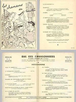 MOULIN DE LA GALETTE - PROGRAMME DU: l'Association Amicale des