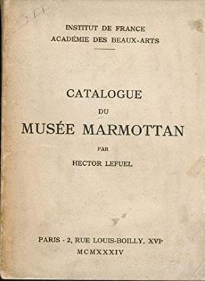 CATALOGUE DU MUSEE MARMOTTAN
