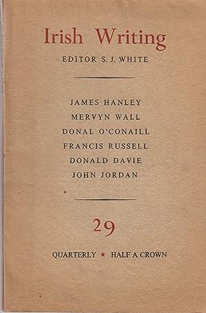 Irish Writing, No. 29 (December 1954): White, S. J. (ed.)