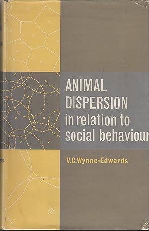 Animal Dispersion in Relation to Social Behaviour: Wynne-Edwards, V. C.