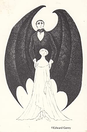 Dracula [Postcard announcement]: Gorey, Edward