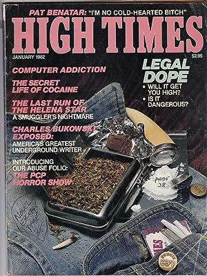High Times, no. 77, January 1962: Bukowski, Charles (contrib.)