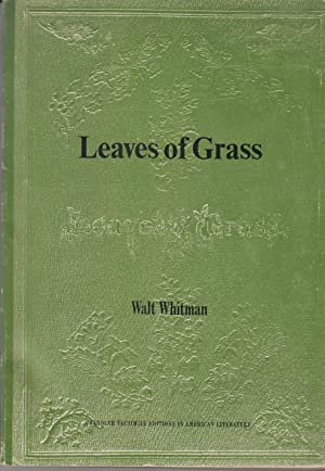 Leaves of Grass: A facsimile of the: Whitman, Walt