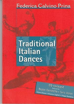 Traditional Italian Dances [CD enclosed]: Prina, Federica Calvino