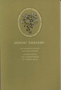 Heroic Emblems: Finlay, Ian Hamilton, with Ron Costley. Intro and commentary by Stephen Bann