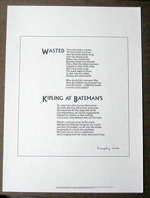 Wasted [&] Kipling at Bateman's: Amis, Kingsley