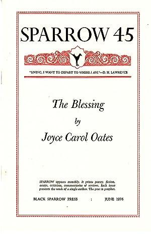 The Blessing [Sparrow 45]: Oates, Joyce Carol