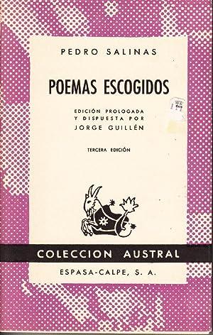 Poemas Escogidos: Pedro Salinas