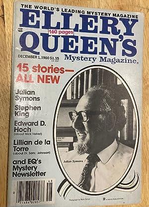 "THE WEDDING GIG"" [appearing in] ELLERY QUEEN'S: King, Stephen [Ellery"