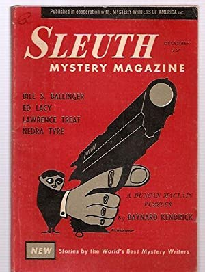 SLEUTH MYSTERY MAGAZINE VOLUME 1 NO. 2: Sleuth) [cover design