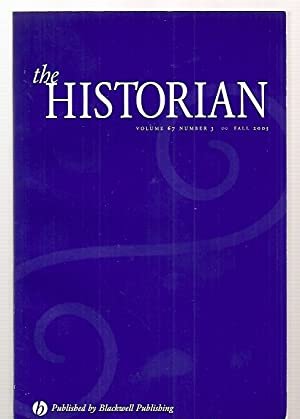 THE HISTORIAN VOLUME 67, NUMBER 3 FALL: The Historian) Paul,