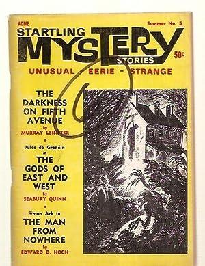 STARTLING MYSTERY STORIES VOLUME 1 NUMBER 5: Startling Mystery Stories)